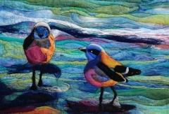 160. Shore birds