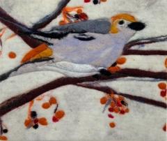 180. Bird and berries
