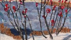 2. Red berries in winter