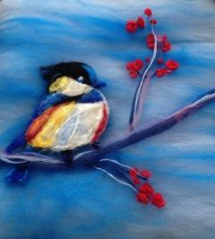 182. Bird and berries