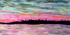 34. Pink sunset