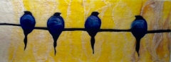 156. Birds on a wire 3