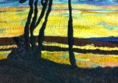 21. Sunset, Kempenfelt bay