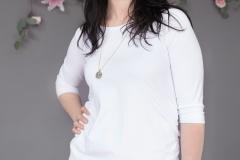 #5B White Bamboo:cotton tunic:Dress3