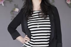 #6A lightweight linen Stripe tunic:Dress1