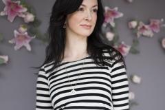 #6B lightweight linen Stripe tunic:Dress2